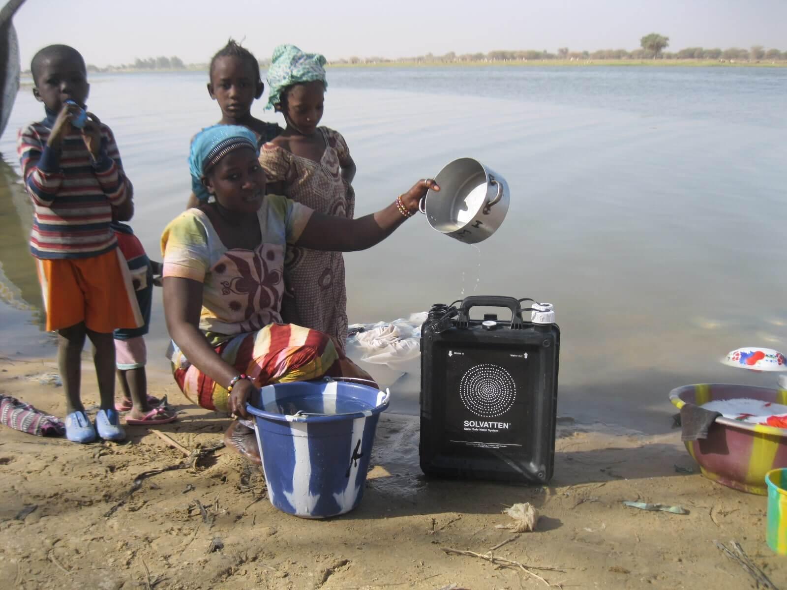 UN Habitat and Solvatten in Mali
