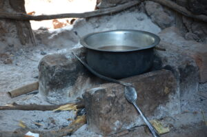 By using Solvatten, smoke inhalation and emissions from burning fuelwood decrease