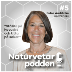 Natural Science Podcast featuring Petra Wadström (in Swedish)